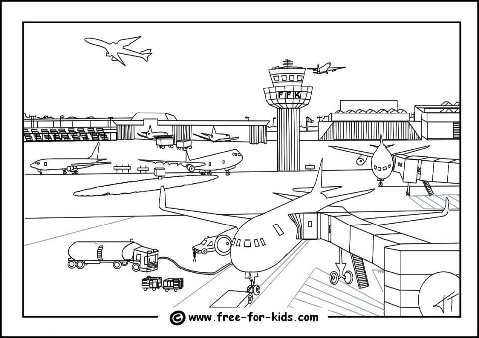 Get This Airplane Coloring Pages for Kids 3ar48