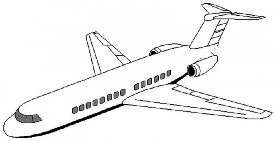 Airplane coloring pages printable 7df31