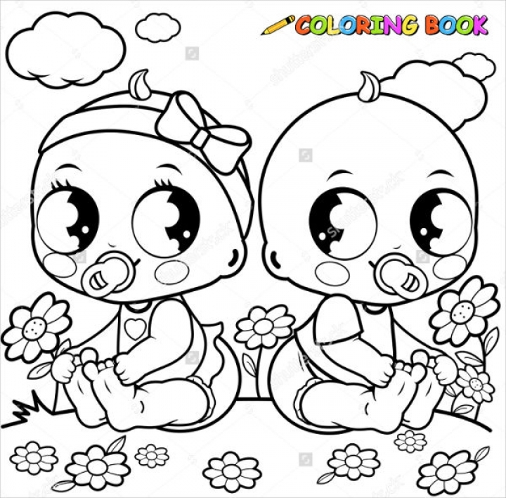 online baby coloring pages - photo#6