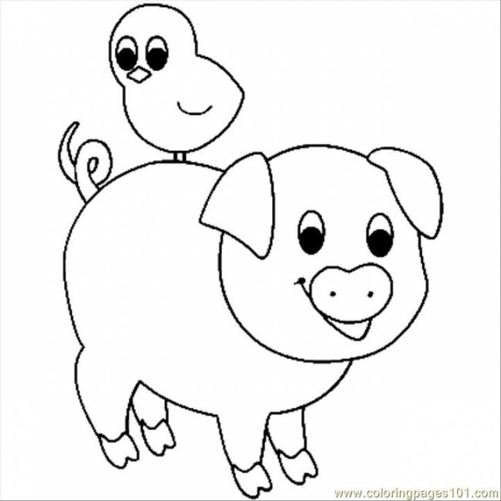 Get This Baby Pig Coloring Pages 3ah59 !