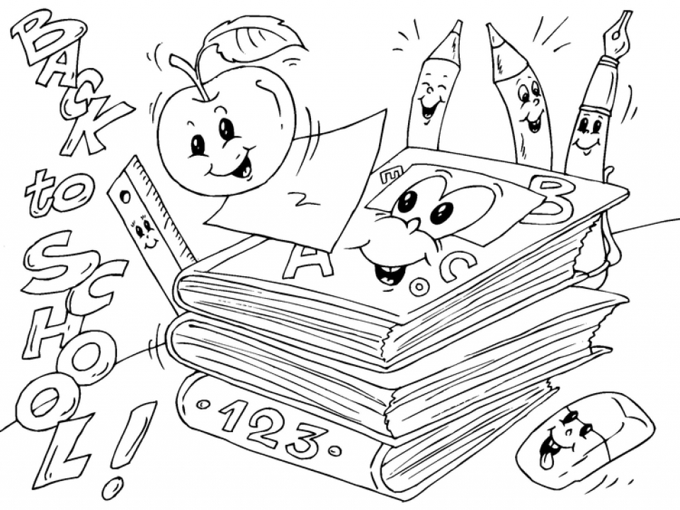 92 Map Coloring Pages For Kindergarten