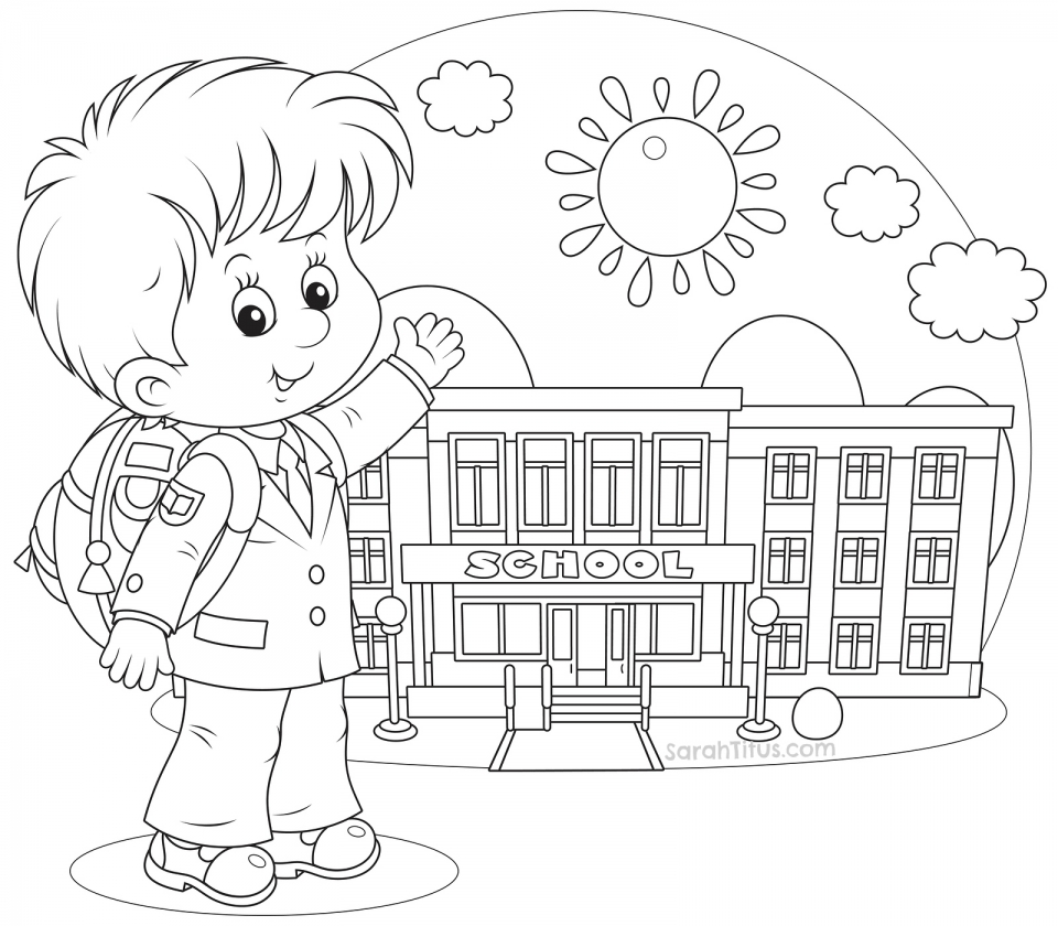 Get This Back to School Coloring Pages Free 73yx2