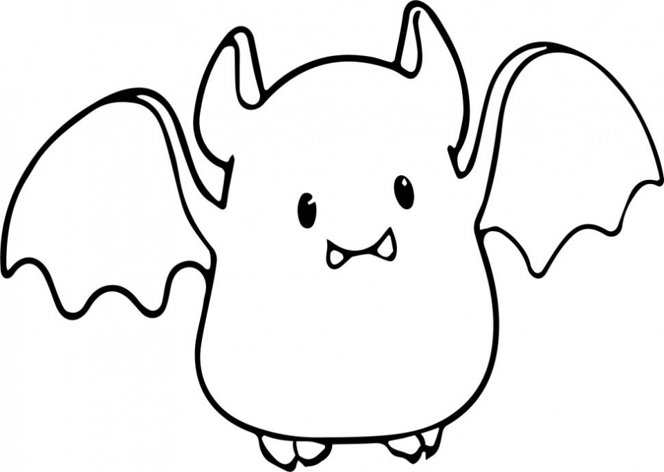Bat Coloring Pages Free Printable   56318