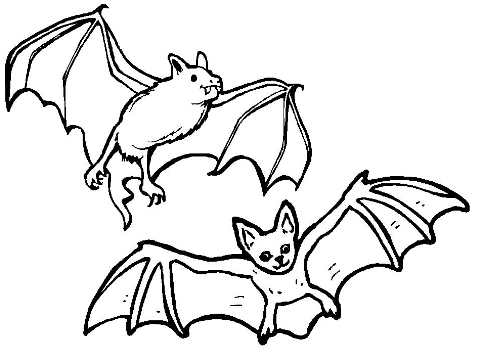 Bat Coloring Pages Printable 37154 Nice Design