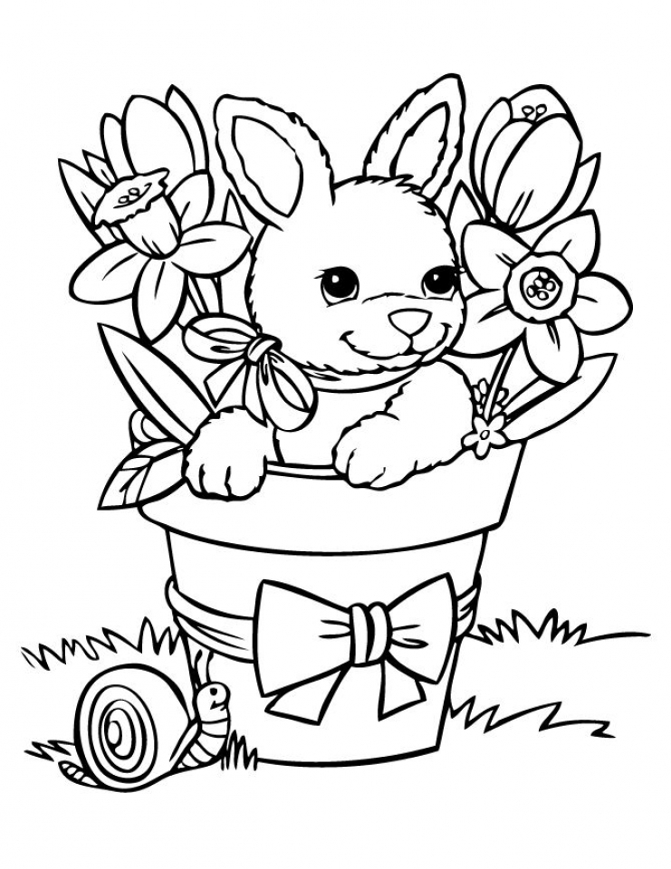 - Get This Bunny Coloring Pages Free Printable 38896 !