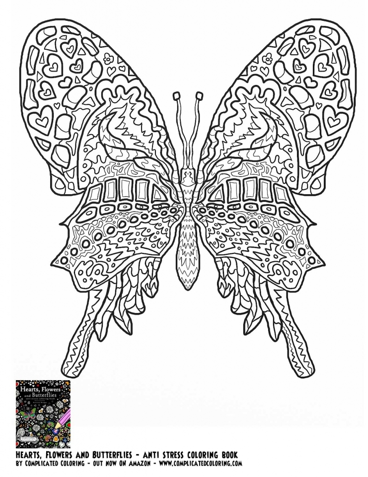 Get This Butterfly Coloring Pages Adults Printable ayu5