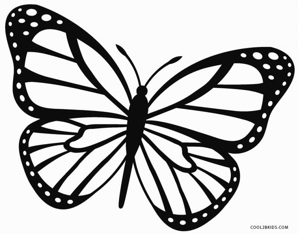 Get This Butterfly Coloring Pages Free 5df31 !