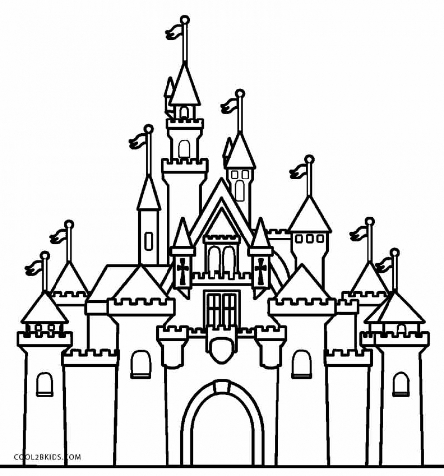 get this castle coloring pages free bgo7