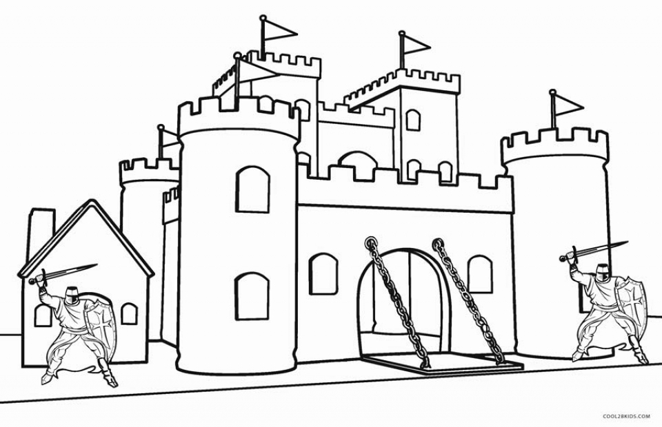 get this castle coloring pages printable urg63
