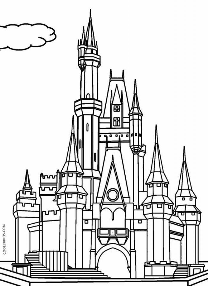 elsa kasteel kleurplaat frozen coloring pages coloring