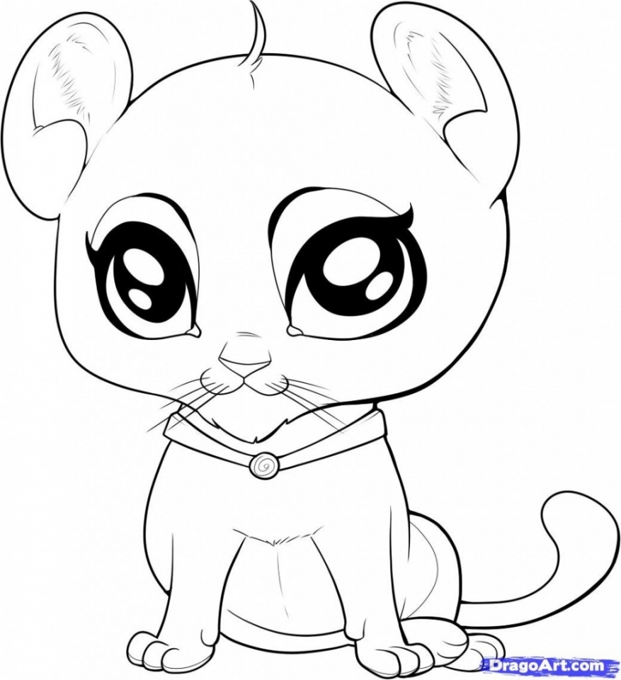 Get This Coloring Pages of Cute Animal for Kids agrj7