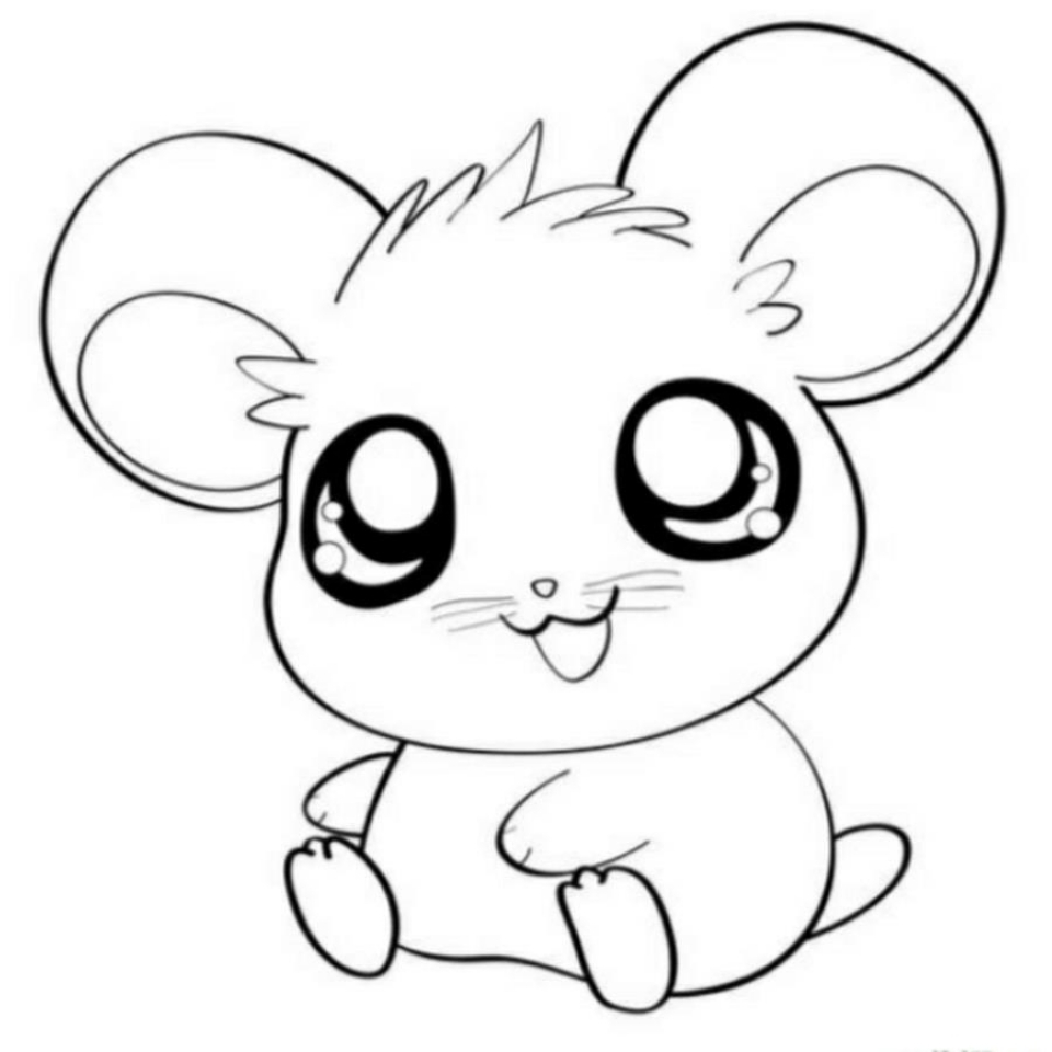 Get This Cute Baby Animal Coloring