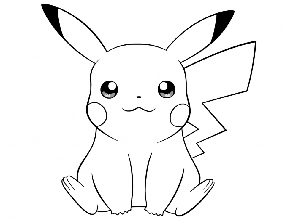 Get this cute pikachu coloring pages 8vbg3 for Pikachu coloring pages printable