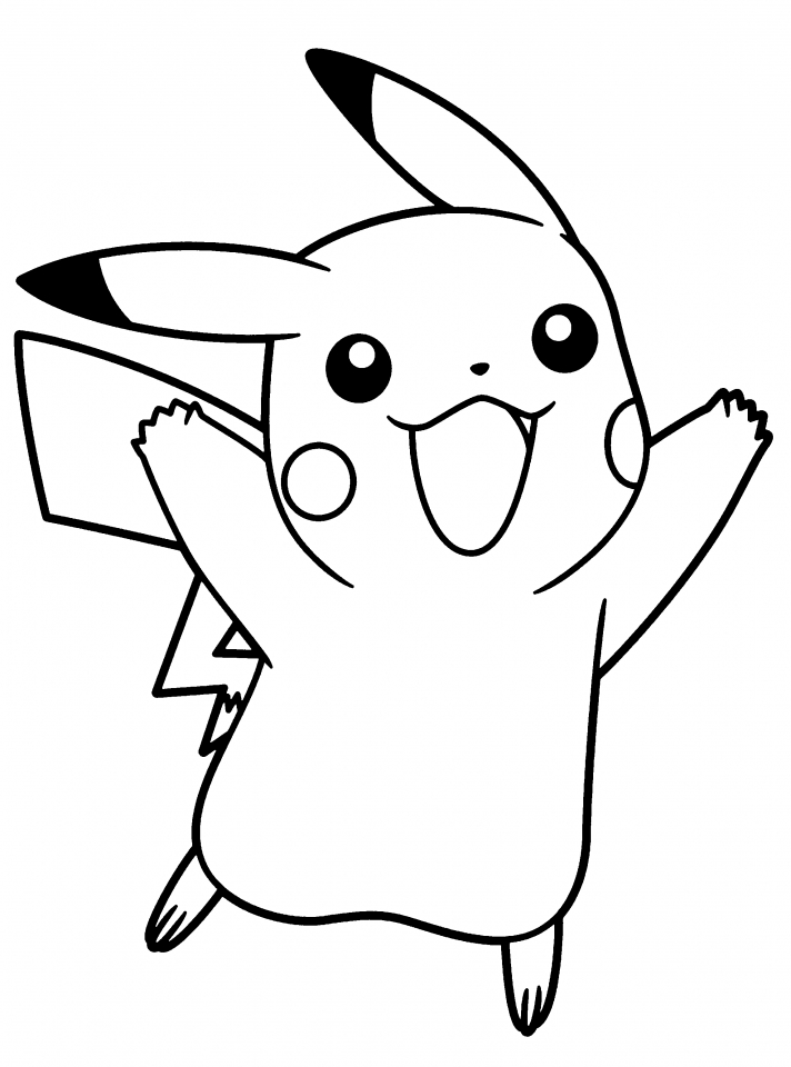 Get This Cute Pikachu Coloring Pages yag43