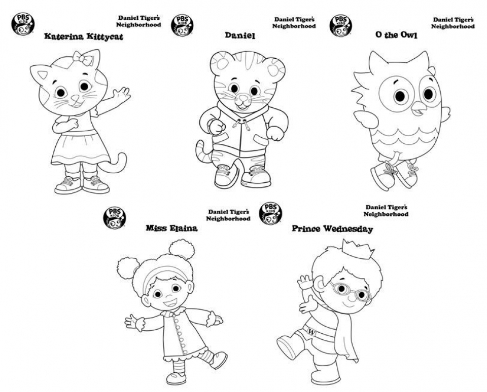 Get This Daniel Tiger Coloring Pages to Print 6df21