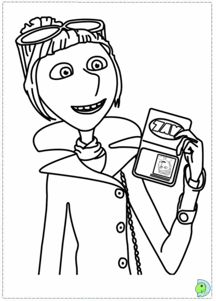 Despicable me to download for free - Despicable Me Kids Coloring Pages | 960x690