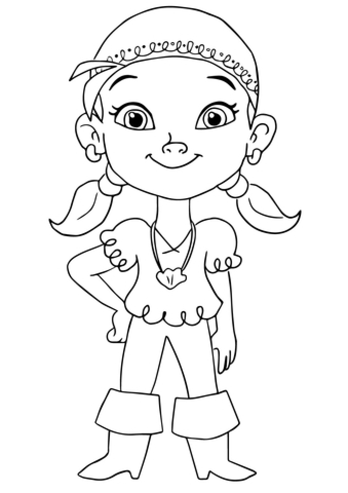 Get this disney jake and the neverland pirates coloring for Jake neverland pirates coloring pages
