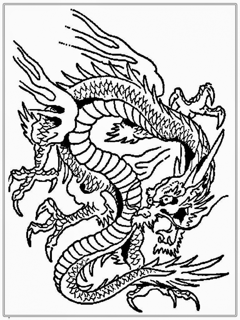 get this dragon coloring pages for adults free printable