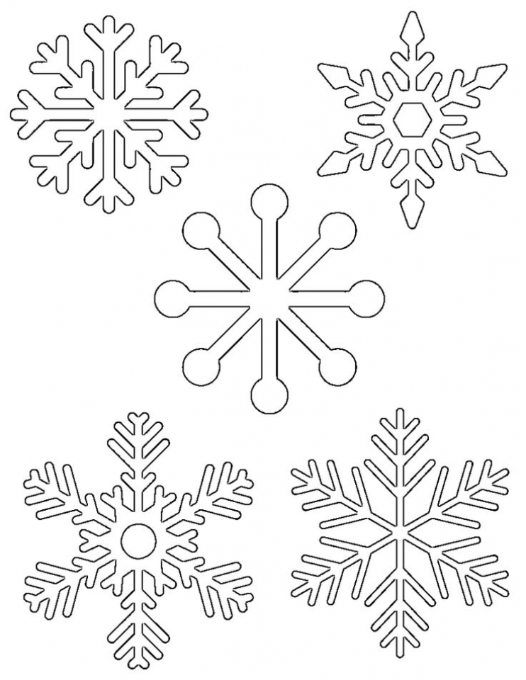 Get This Easy Snowflake Coloring Pages for Kids 33758 !