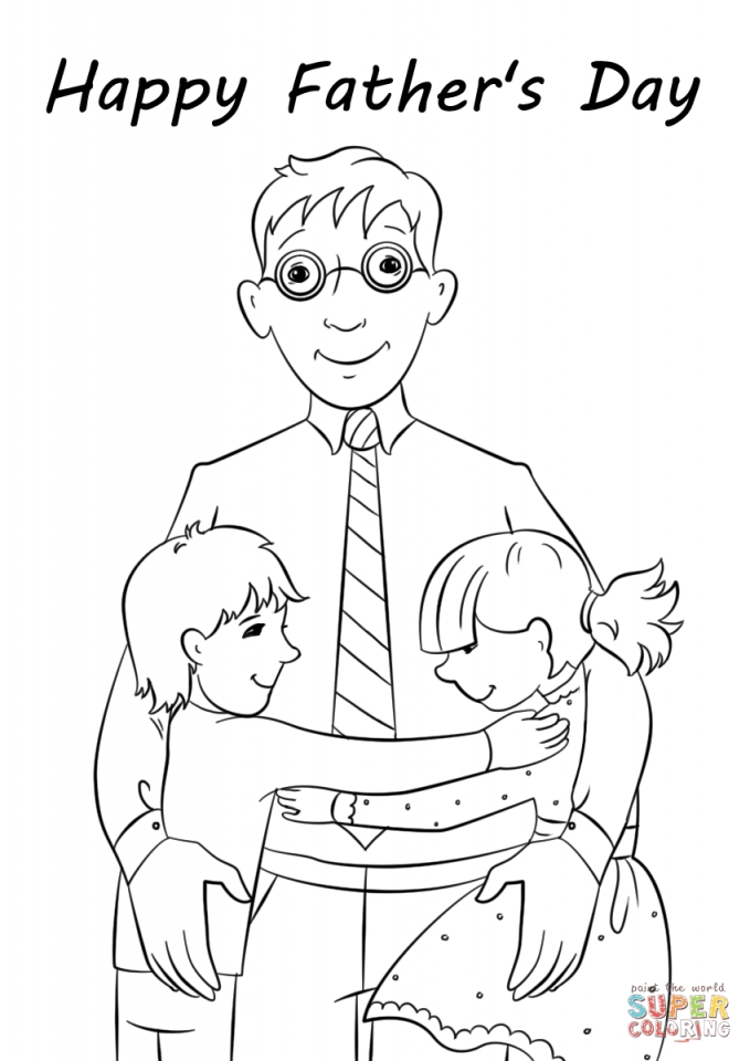 coloring pages fathers day - get this father 39 s day card coloring pages 1agrm