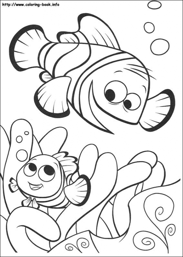 get this printable summer coloring pages 808700 - Finding Nemo Coloring Pages Bruce
