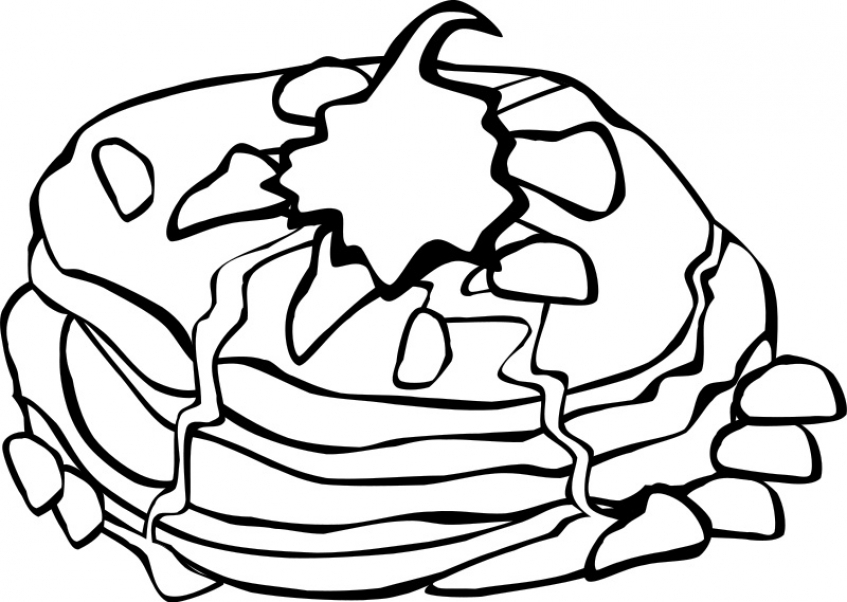Get This Food Coloring Pages pancake l46c2