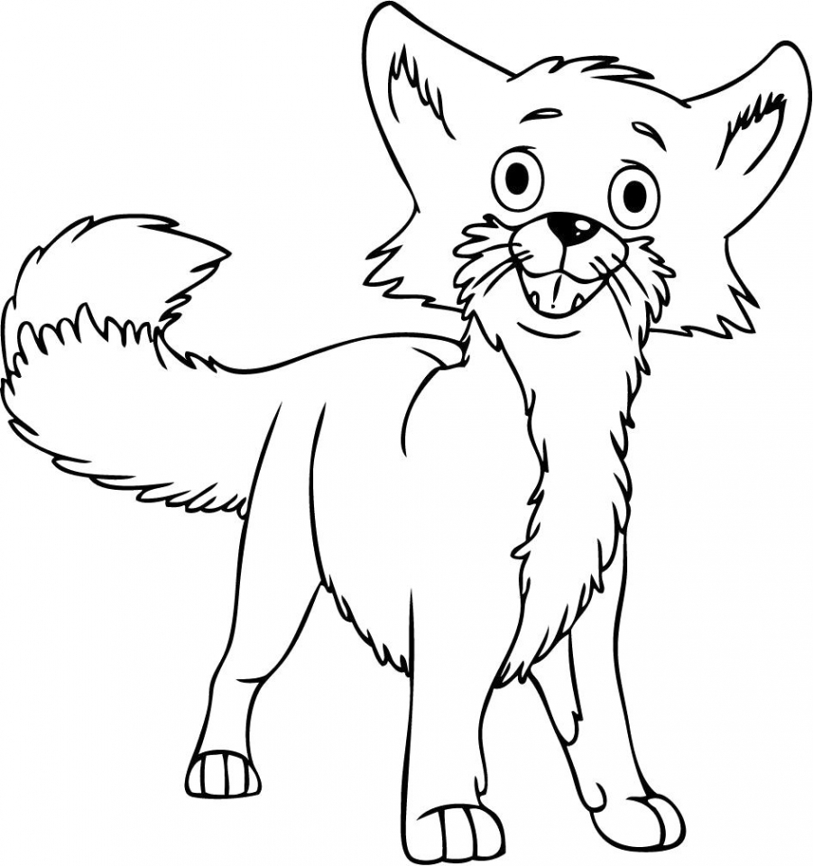 Printable coloring pages daniel tiger - Fox Coloring Pages Printable 2ay71