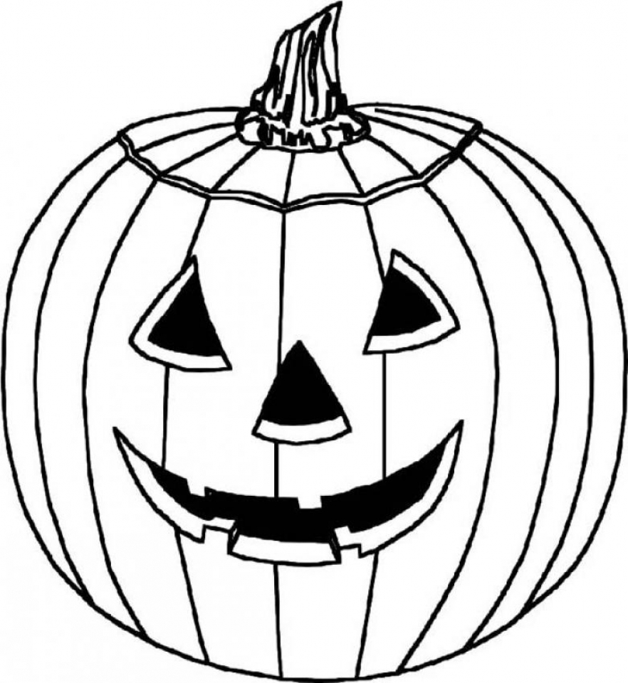 Get This Halloween Pumpkin Coloring Pages 7a63m !