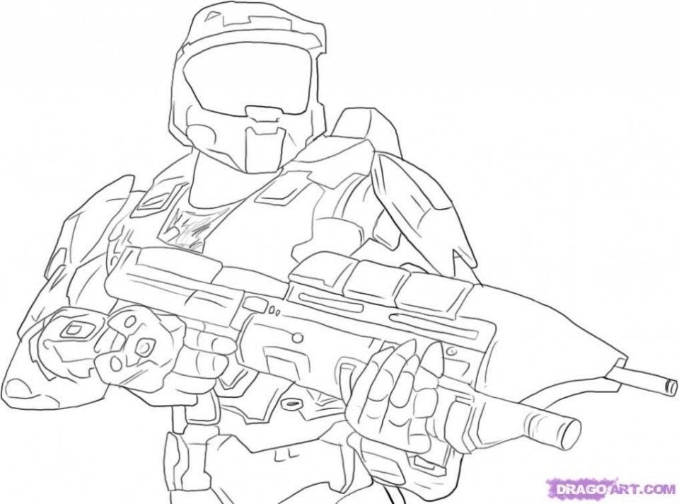Get This Halo Coloring Pages for Kids qau69 !