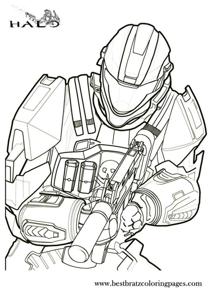 Get This Halo Coloring Pages Free 671fg !