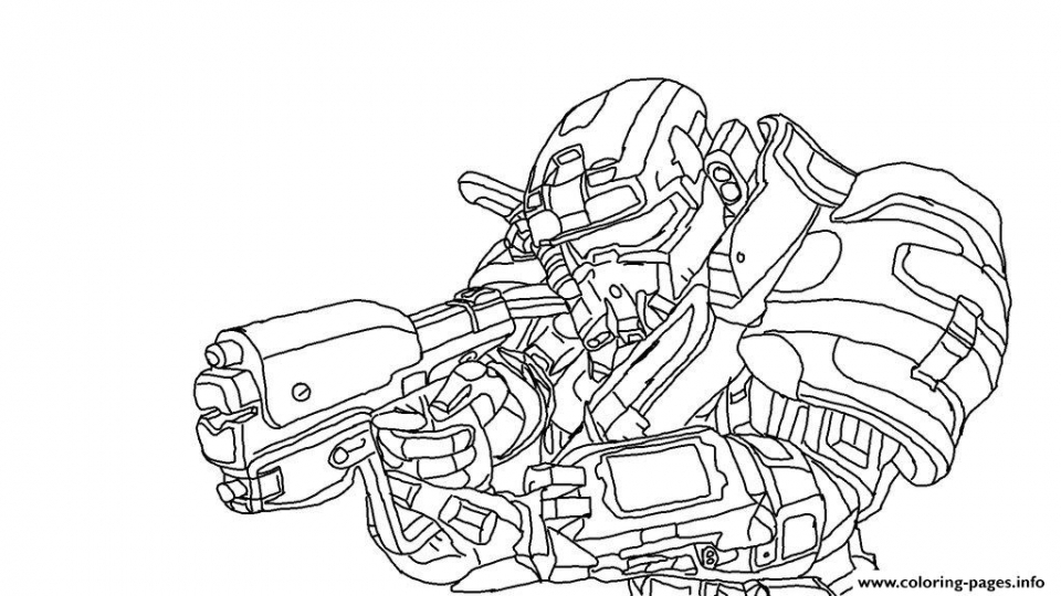 Get This Halo Coloring Pages Printable 71672 !
