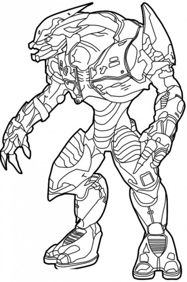 Get This Halo Coloring Pages to Print 27185 !