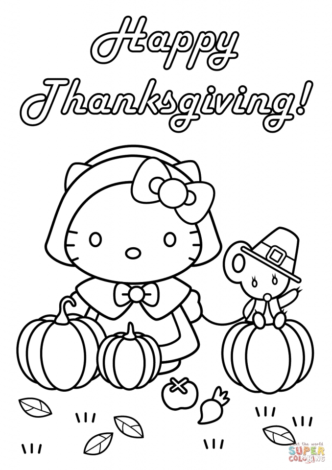Get This Happy Thanksgiving Coloring Pages 08513 !