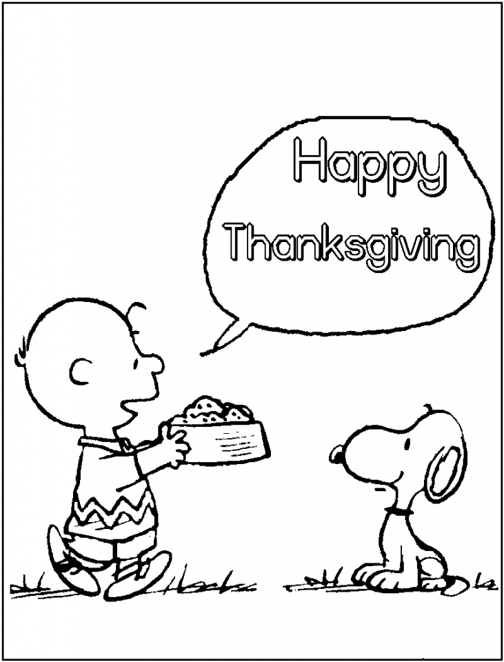 Happy Thanksgiving Coloring Pages Free Printable 83152