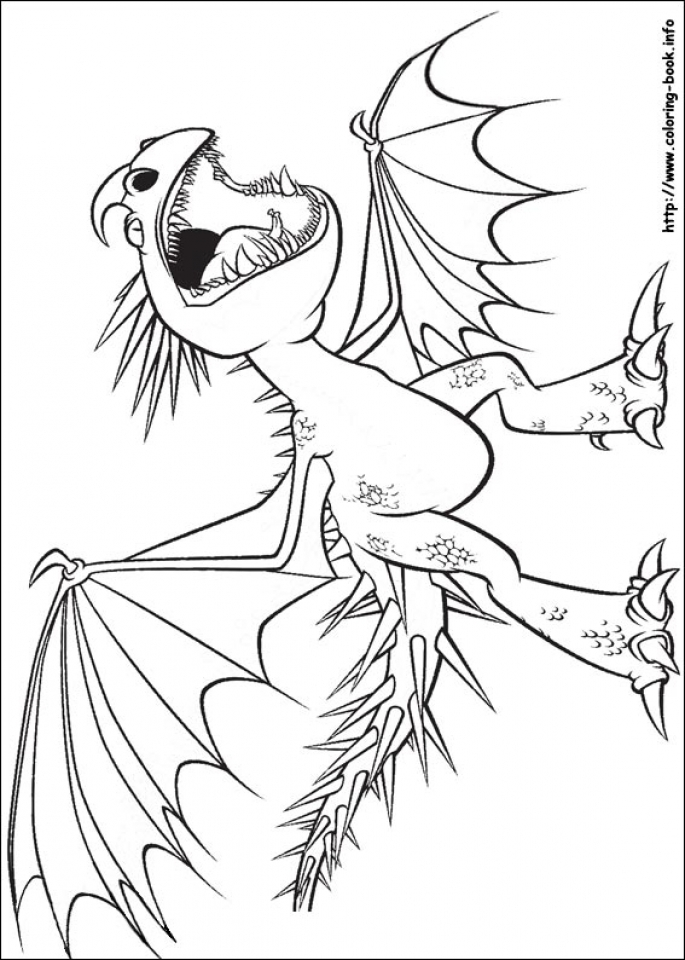 Get This How to Train Your Dragon Coloring Pages Free 37v71 !
