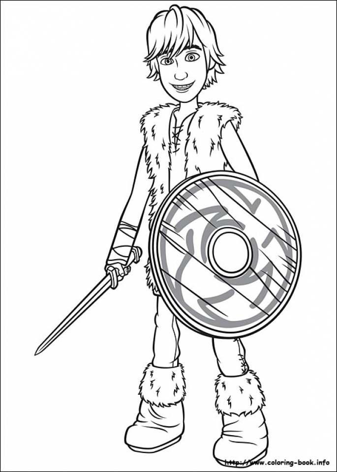 20 Free Printable How To Train Your Dragon Coloring Pages
