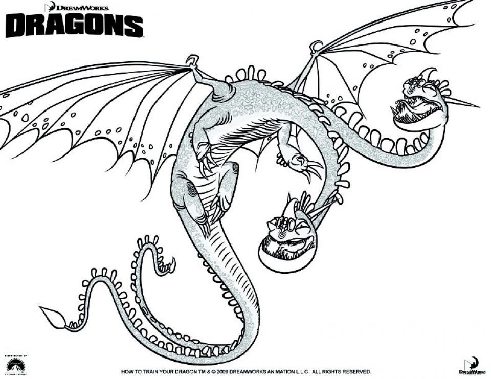 Get This How to Train Your Dragon Coloring Pages to Print 8561a