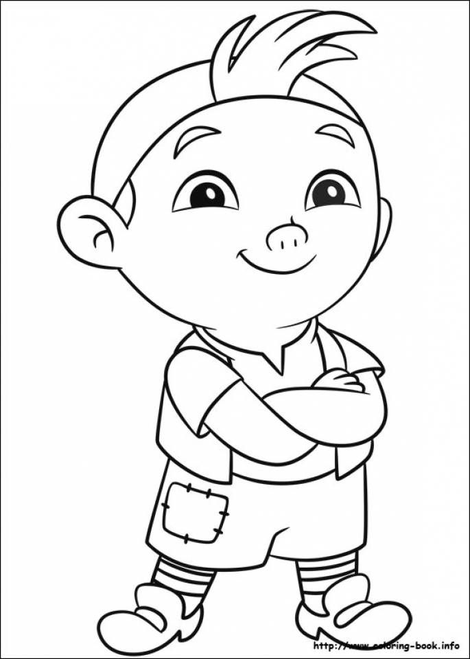 Get this jake and the neverland pirates coloring pages for Jake neverland pirates coloring pages