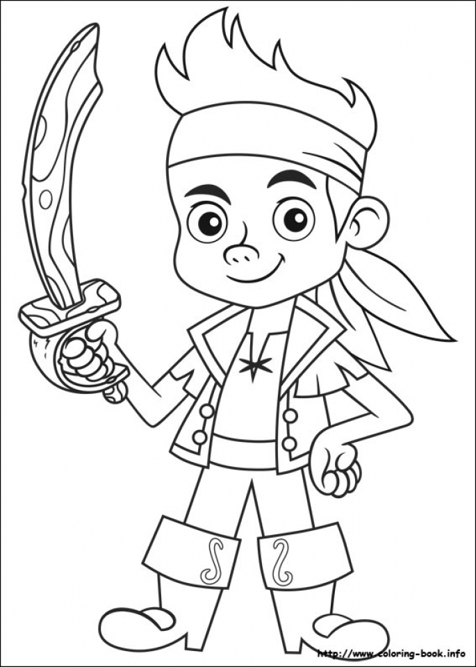 jake and the neverland pirates coloring pages free ycv41
