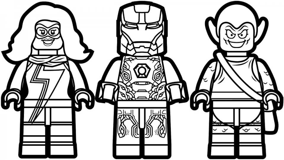 Lego Marvel Coloring Pages To Download And Print For Free: Download Doctor Strange Free