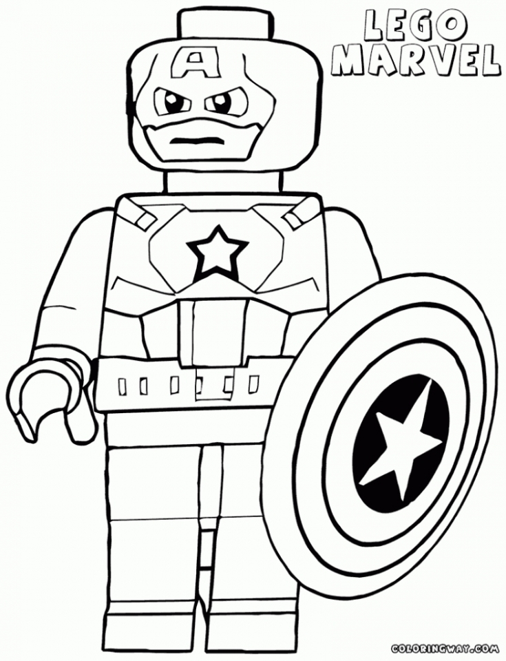 Get This lego marvel coloring pages