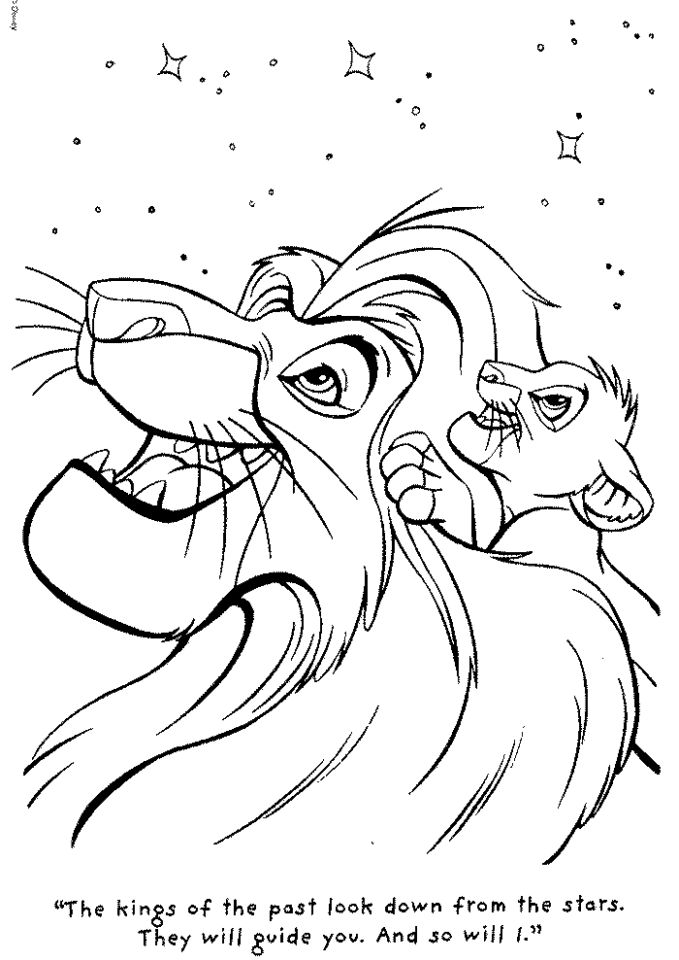 Get This Lion King Coloring Book Pages