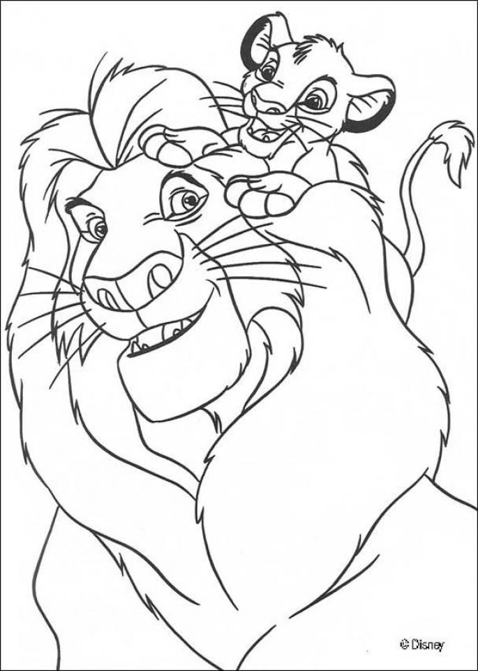 Lion King Coloring Pages Online   u789d