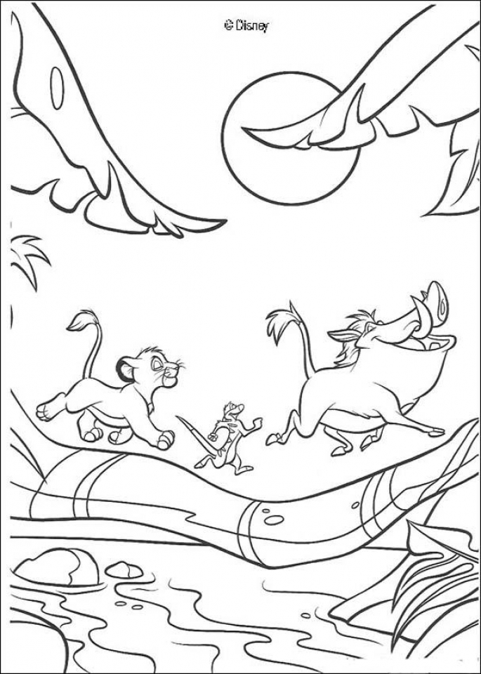 Lion King Coloring Pages To Print 73109