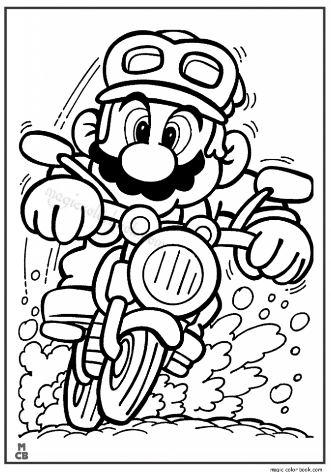 Get This Mario Coloring Pages to Print g2an0 !