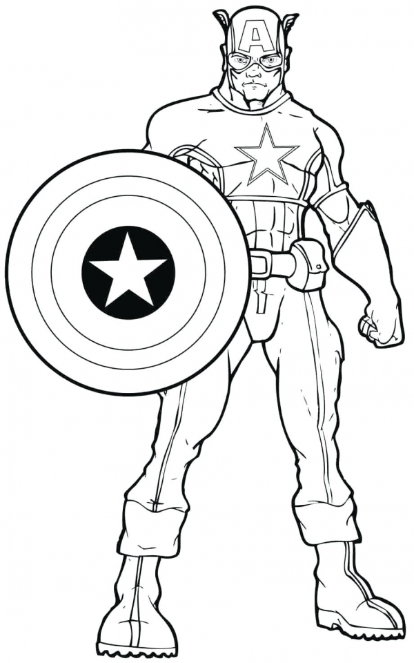 Get This Marvel Coloring Pages