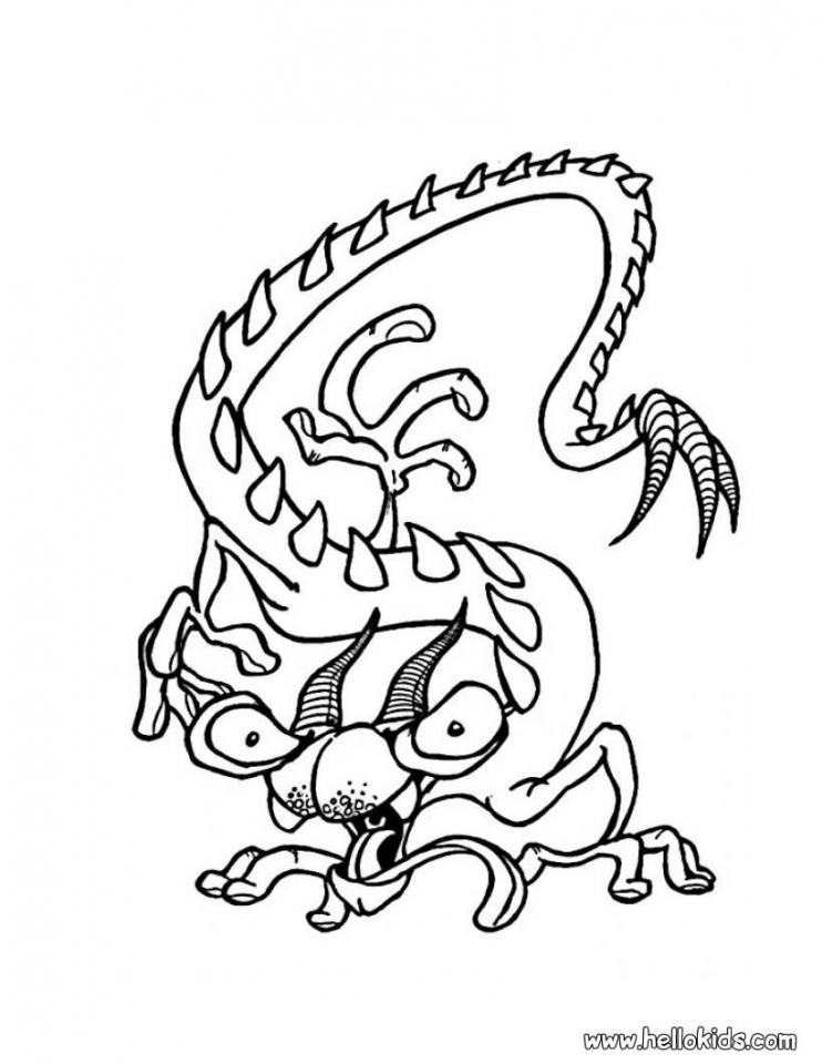 get this monster coloring pages free to print 06nv7