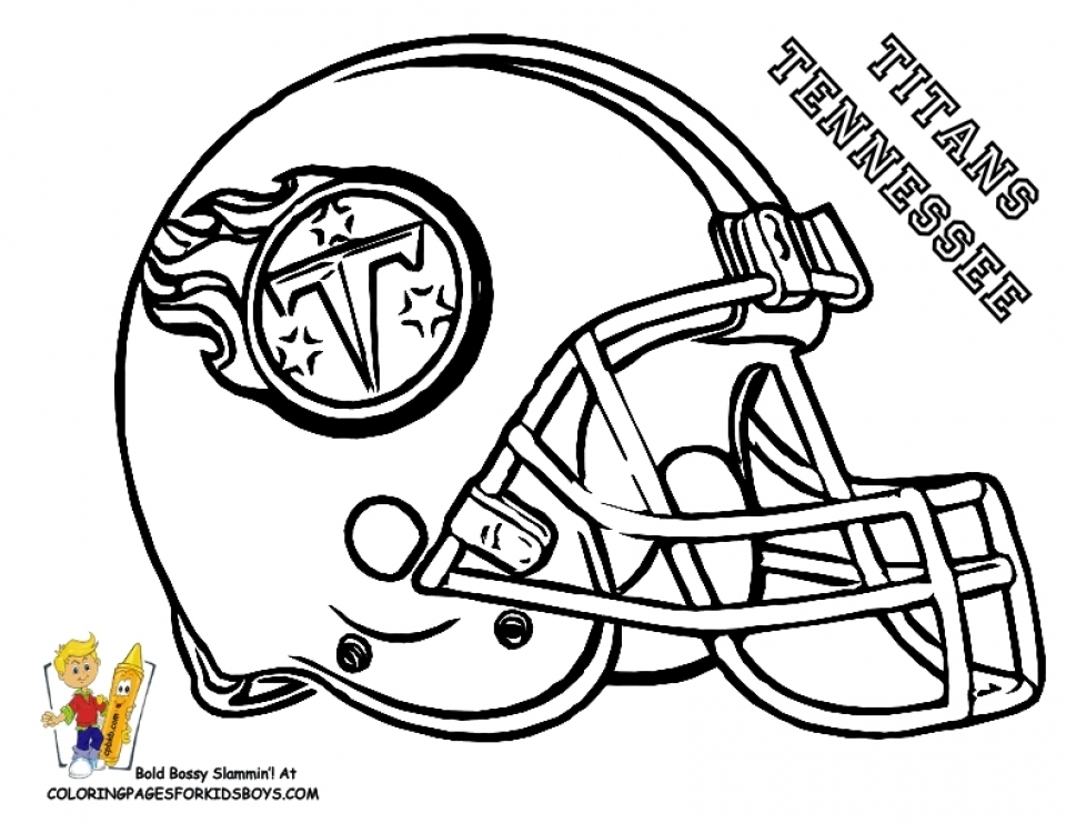 Nfl Coloring Pages For Kids NFL Rams Coloring Pages - Free ...