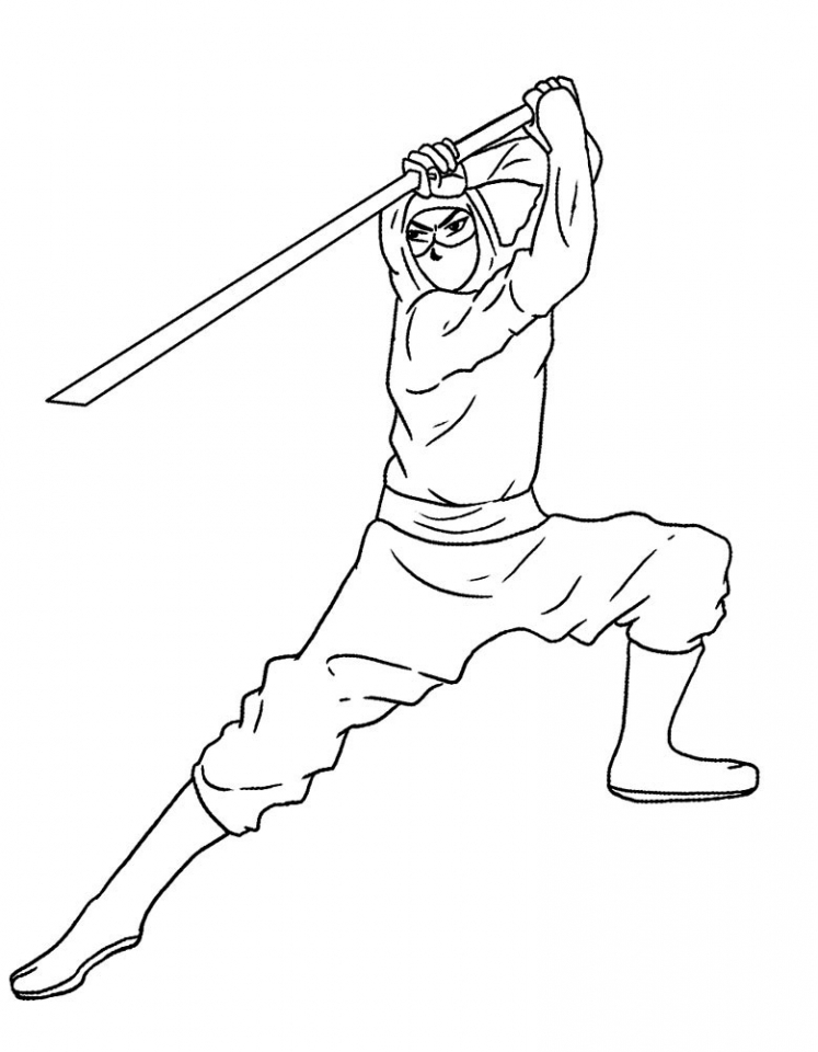 Get this ninja coloring pages free gsm65 for Coloring pages of ninjas