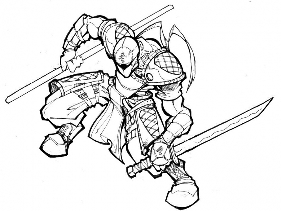 Impeccable image intended for ninja coloring pages printable
